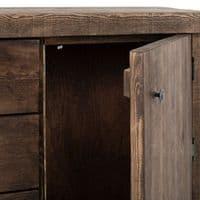 Derwent Rustic Solid Wood Sideboard| Handcrafted UK